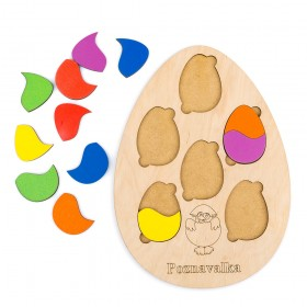 Яйцо пазл