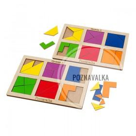 Квадраты Никитиных «Сложи квадрат 2 уровень»