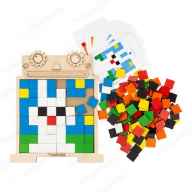 Пиксельная мозаика «Робот»