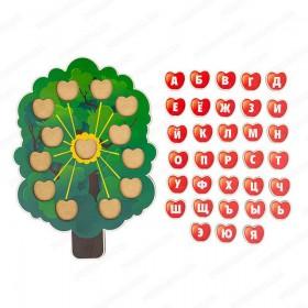 Дерево с буквами